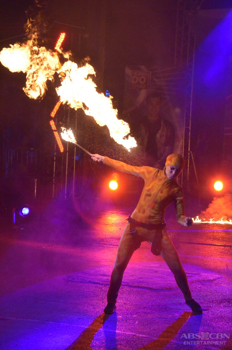 I Can Do That The Battle For Greatness: Cristine Reyes' Fire Dancing Act