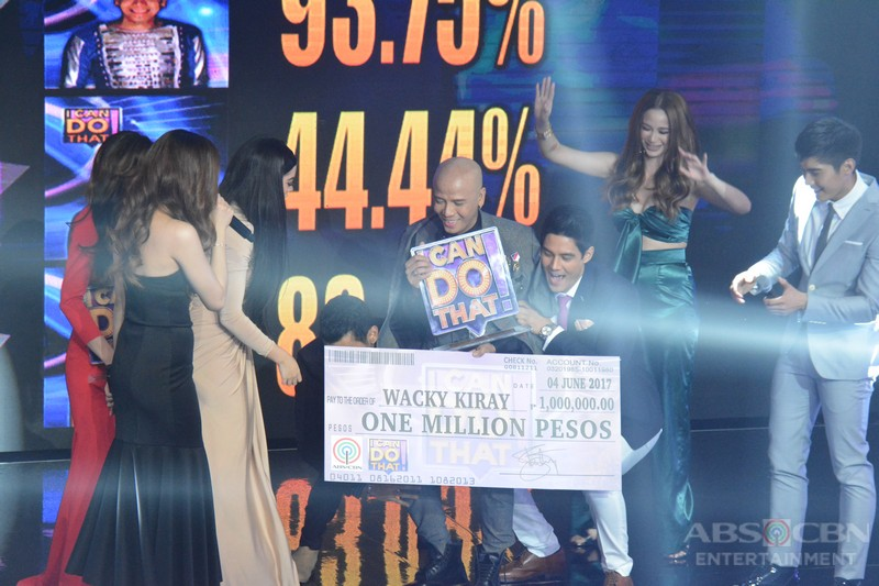 WINNING MOMENTS: Wacky Kiray is I Can Do That's first ever Greatest Entertainer