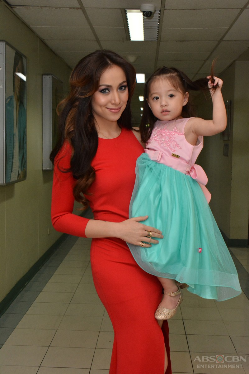 IN PHOTOS: Cristine and Baby Amarah's off cam moments in I Can Do That Grand Finals