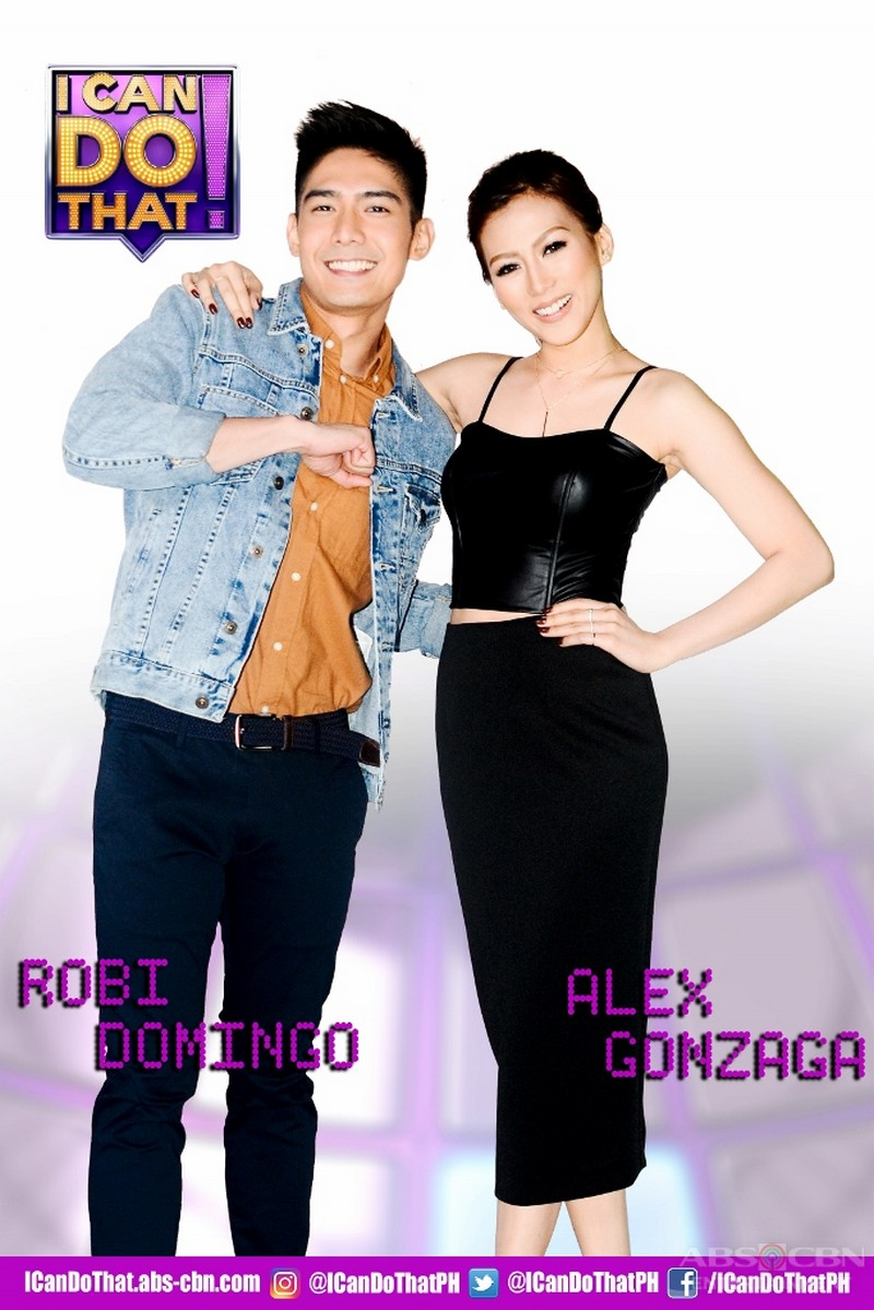Robi and Alex to host the Philippine version of I Can Do That