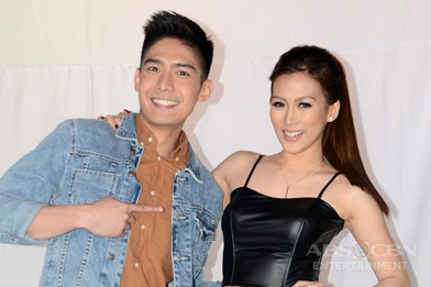 GLAM SHOTS: I Can Do That Hosts Robi and Alex